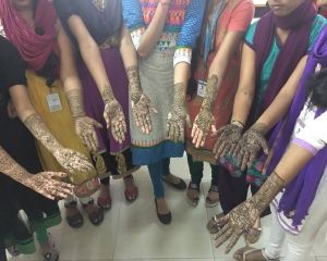 Mehandi Competition